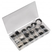 SEALEY BC285 INTERNAL & EXTERNAL CIRCLIP ASSORTMENT 285PC METRIC