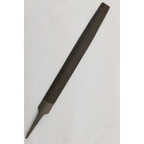 "8"" HALF ROUND DOUBLE CUT HAND FILE, SECOND CUT"