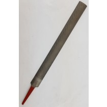 "10"" SIMONDS HALF ROUND DOUBLE CUT HAND FILE, SECOND CUT"