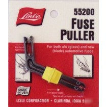 FUSE PULLER FOR BOTH OLD GLASS AND NEW BLADE AUTOMOTIVE FUSES MADE BY LISLE USA