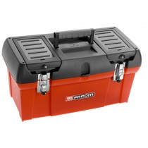 PORTABLE POLYPROPYLENE TOOL BOX 24""