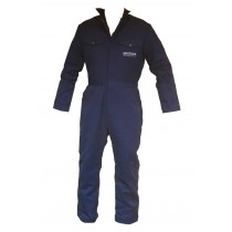"BRITOOL WAREHOUSE / WORKWEAR OVERALLS 38"" CHEST WAIST 34"" LEG 29"" - BSR96"