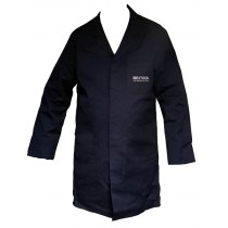 """BRITOOL WAREHOUSE / WORKWEAR COAT OVERALLS 44"""" - 46"""" CHEST LONGER LENGTH BWC-44L"""