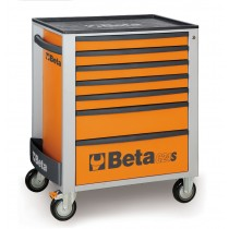 7 DRAWER ROLL CAB TOOLBOX FROM BETA - ORANGE
