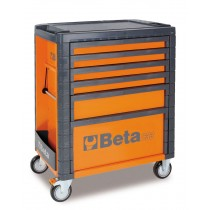 6 DRAWER ROLL CAB TOOLBOX FROM BETA - ORANGE