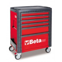 6 DRAWER ROLL CAB TOOLBOX FROM BETA - RED