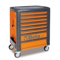 8 DRAWER ROLL CAB TOOLBOX FROM BETA - ORANGE