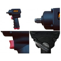 "1/2"" DRIVE STUBBY AIR IMPACT WRENCH / GUN 1356NM FROM CUSTOR TOOLS"