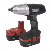 "CORDLESS IMPACT WRENCH 19.2V 1/2"" SQ DRIVE 285LB.FT WITH 2 BATTERIES SEALEY CP1950"