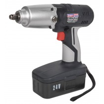 "CORDLESS IMPACT WRENCH 24V 1/2"" SQ DRIVE 325LB.FT SEALEY CP2400"