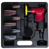 "CHICAGO PNEUMATIC 2 & 3"" RANDOM ORBITAL SANDING AIR TOOL KIT"