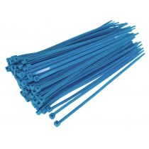 CABLE TIE 200 X 4.8MM BLUE PACK OF 100 FROM SEALEY CT20048P100B SYSP