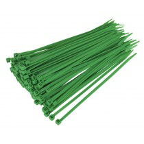 CABLE TIE 200 X 4.8MM GREEN PACK OF 100 FROM SEALEY CT20048P100G SYSP