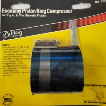 "PISTON RING COMPRESSOR 2-1/8"" - 5"" FRAM CAL-VAN TOOLS USA"