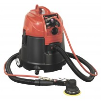 SEALEY DFS55A COMBINATION DUST-FREE/WET & DRY VACUUM SYSTEM AIR/ELECTRIC - 28LTR WITH MAT150AS