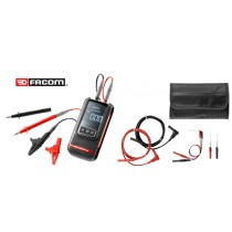 AUTOMOTIVE MULTIMETER PLUS FREE PROBE ACCESSORY KIT FROM FACOM DX.V12 + DX.SET