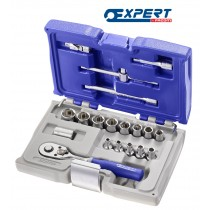 """SOCKET SET 1/4"""" DRIVE 19 PIECES FROM EXPERT BY FACOM"""