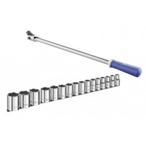 """1/2"""" SOCKET SET 10-32MM PLUS KNUCKLE BAR FROM EXPERT BY FACOM"""