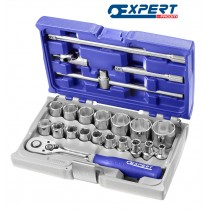 """SOCKET SET 1/2"""" DRIVE 22 PIECES FROM EXPERT BY FACOM"""