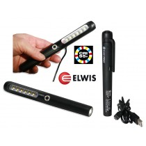 POWERFUL RECHARGEABLE SMD PEN LIGHT 140 LUMENS ELWIS