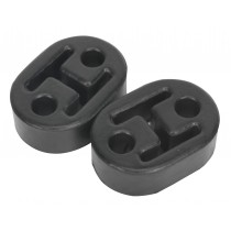 EXHAUST MOUNTING RUBBERS L60 X D41 X H20 (PACK OF 2) FROM SEALEY EX02 SYSP