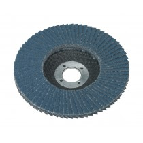 FLAP DISC ZIRCONIUM DIA.100MM 16MM BORE 60GRIT FROM SEALEY FD10060 SYSP