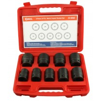 "9 PIECE 3/4"" DRIVE IMPACT SOCKET SET 19-36MM GENIUS TOOLS"