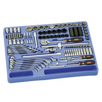 "GENIUS TOOLS MS-098M 98PC 1/4"" & 1/2"" TOOL KIT MODULE"