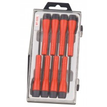 GENIUS TOOLS MT-508L 8 PIECE MICRO-TECH PRECISION SCREWDRIVER SET