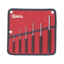 GENIUS TOOLS PC-566MP 6PC METRIC PIN PUNCH SET