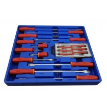 COMBINATION SCREWDRIVER SET 18 PIECE FROM GENIUS TOOLS TL-518