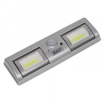 AUTO LIGHT 1.2W COB LED WITH PIR SENSOR 3 X AA CELL