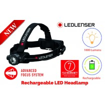 LEDLENSER RECHARGEABLE HEAD TORCH 1000 LUMENS