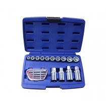 EXTRACTOR SET 19 PIECE BRITOOL HALLMARK HMEXT19