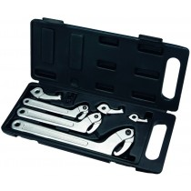 HOOK & PIN WRENCH SET / C SPANNER SET 11PC BRITOOL HALLMARK 5170