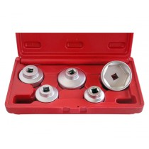 5 PIECE OIL FILTER SOCKET SET BRITOOL HALLMARK