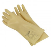 SEALEY ELECTRICIAN'S SAFETY GLOVES 1KV - PAIR