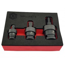 3PC IMPACT UNIVERSAL JOINT UJ SOCKET SET FROM BRITOOL HALLMARK