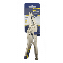"""IRWIN VISE GRIP 9LN FAST RELEASE LONG NOSE LOCKING PLIERS WITH WIRE CUTTER 9"""""""