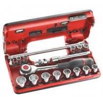 "PROFESSIONAL 3/8"" DRIVE SOCKET & ACCESSORY SET INCLUDES J.360 RATCHET FROM FACOM TOOLS"