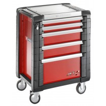 FACOM TOOLS JET.5M3 5 DRAWER RED ROLL CAB