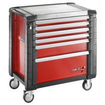 FACOM TOOLS JET.6M4 6 DRAWER RED ROLL CAB