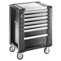 FACOM TOOLS JET.7GM3 7 DRAWER BLACK ROLL CAB