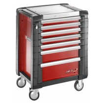 FACOM TOOLS JET.7M3 7 DRAWER RED ROLL CAB