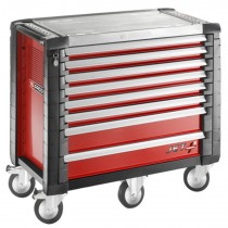 FACOM TOOLS JET.8M5 8 DRAWER RED ROLL CAB