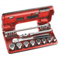 FACOM TOOLS JL.DBOX112 3/8 INCH SOCKET SET