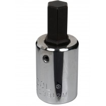 "HEXAGON BIT DRIVER SOCKET 7MM (1/2"" SQ DR) BRITOOL HALLMARK L2B7M"