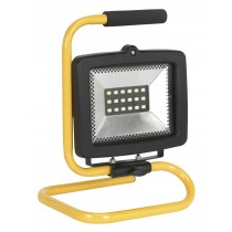 SEALEY LED130110P PORTABLE FLOODLIGHT 18 SMD LED 110V