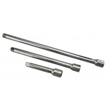 "BRITOOL ENGLAND 1/2"" SQ DR EXTENSION BAR SET 125, 250 & 375MM"