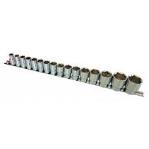 "1/2"" DRIVE SOCKET SET (6-POINT) SIZES 10-32MM FROM BRITOOL HALLMARK RANGE LHMSET1032"
